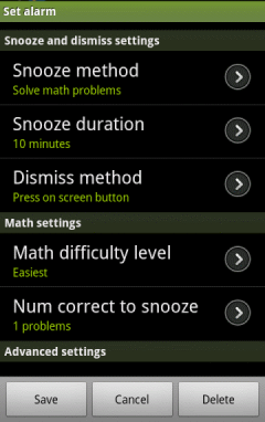 2 Android Alarm Clock Apps For Snoozers