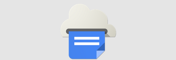 Google Cloud Print header